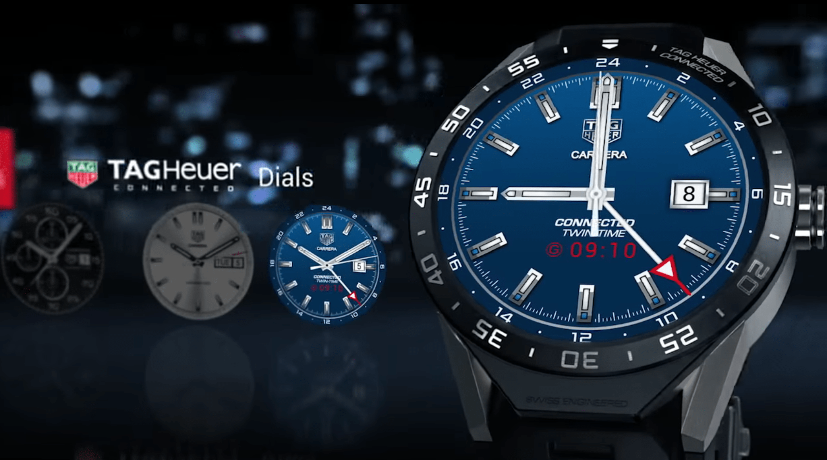 """This dial feels more like Tag Heuer's """"Aquaracer"""" variety."""