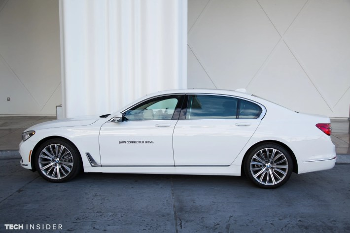 6. The BMW 740i may be luxurious on the outside, but its even more high-end on the inside.
