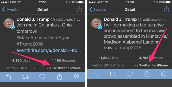 Donald Trump is still tweeting from an iPhone - Business ...