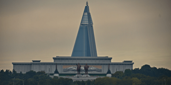 North Korea has the world's largest abandoned building ...