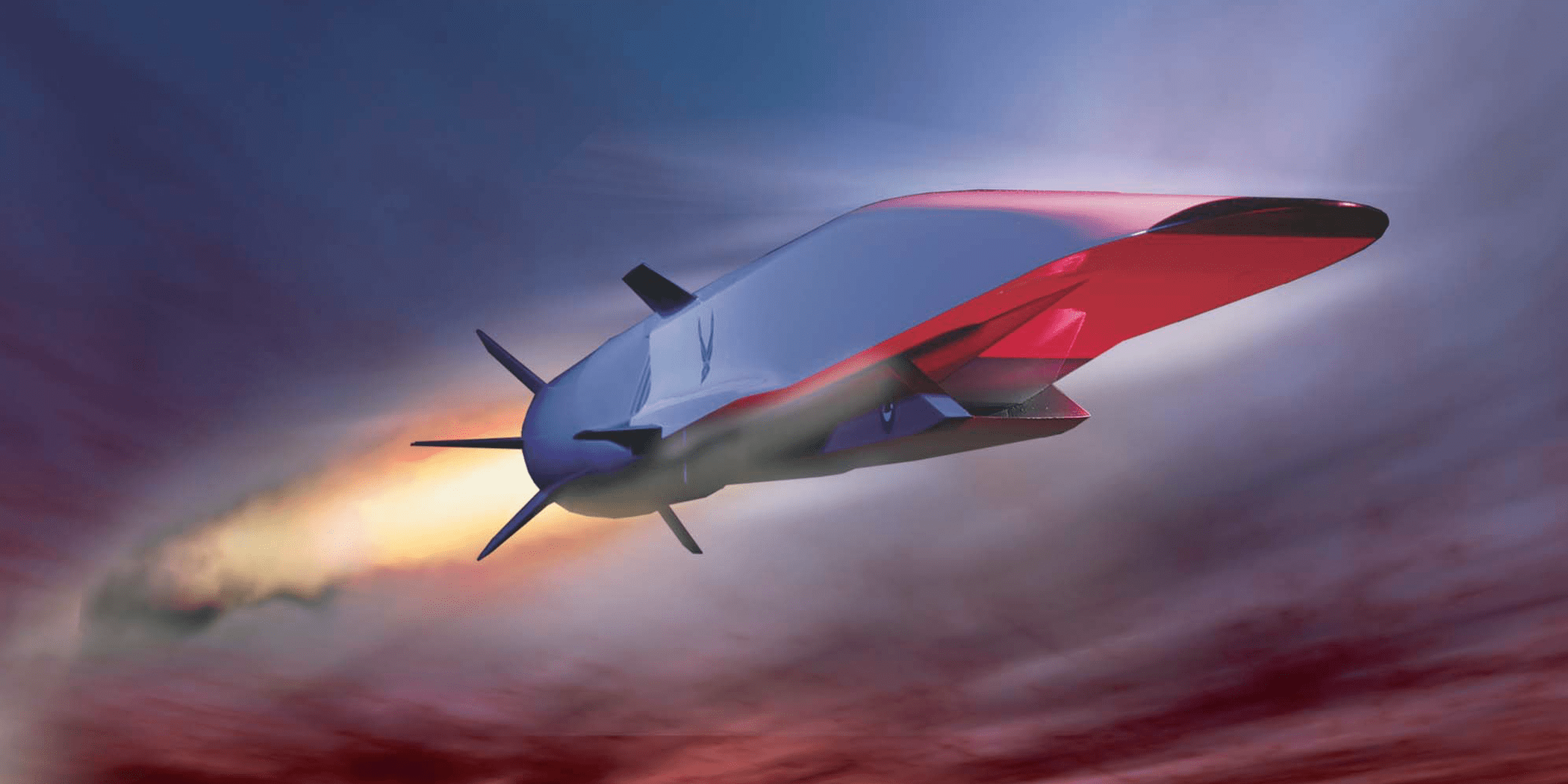 X 51A Waverider hypersonic
