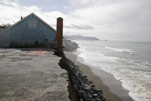 West Coast cities face similar risks. If the sea level rises 4.6 feet over the next century, as some predictions suggest, then the number of Californians exposed to risk from a hundred-year flood could nearly double to 480,000 people.