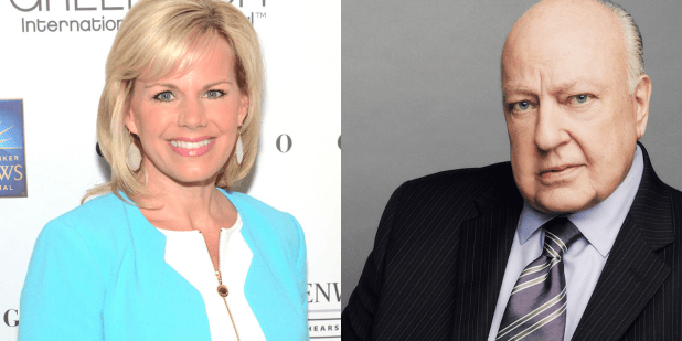 gretchen carlson roger ailes fox news badual harbadment getty images
