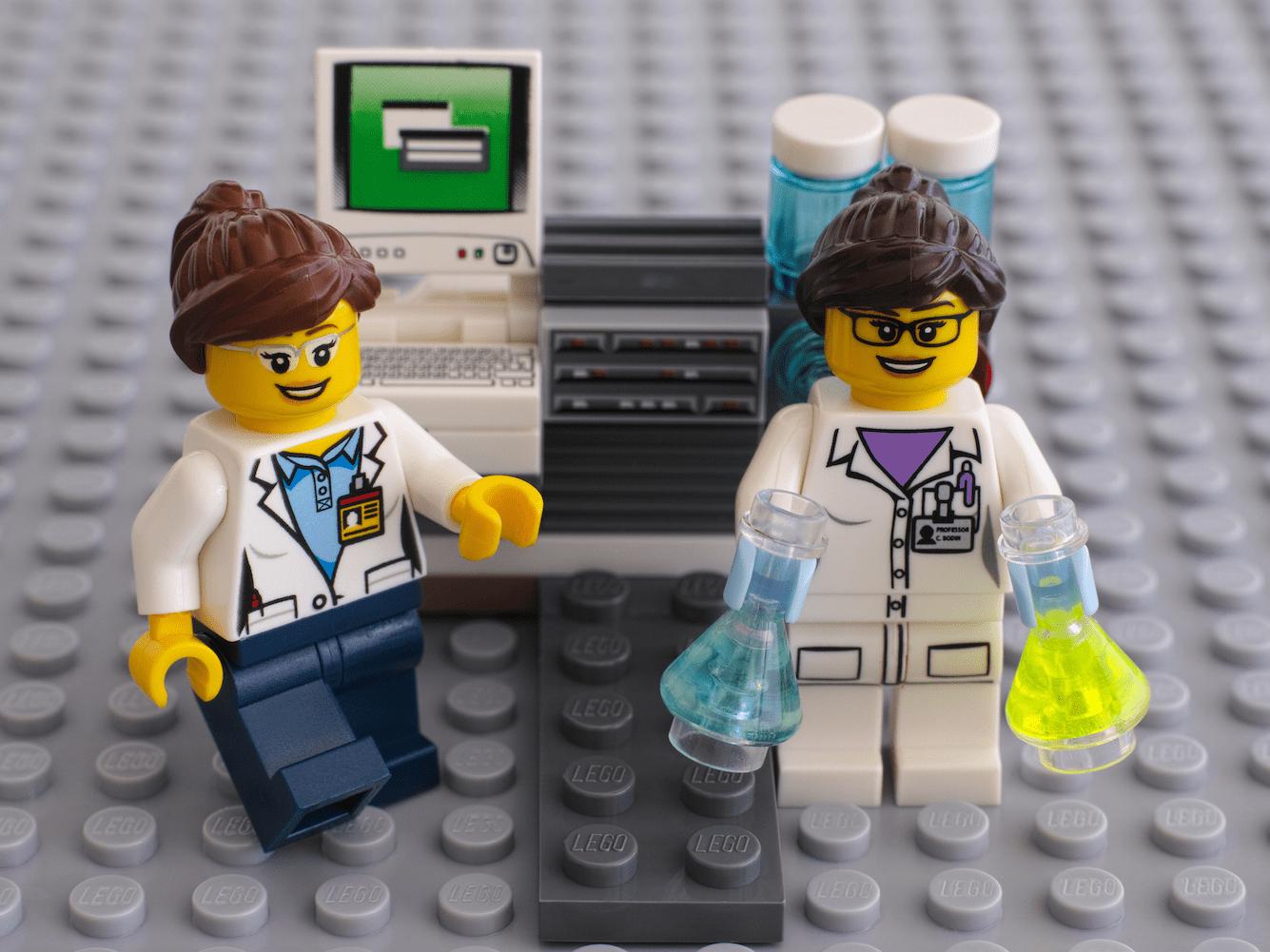 women in science lego female scientist