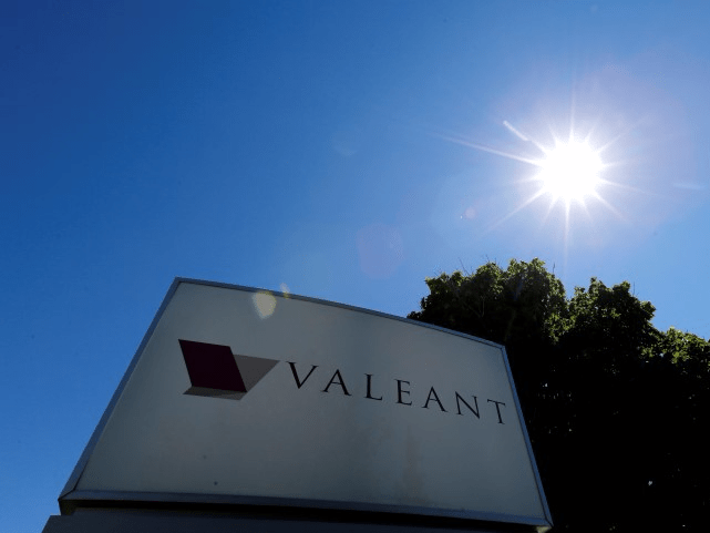 A sign for the headquarters of Valeant Pharmaceuticals International Inc is seen in Laval, Quebec June 14, 2016.   REUTERS/Christinne Muschi