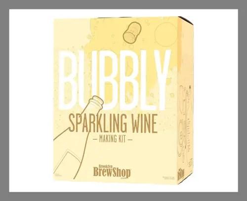 Sparkling wine making kit