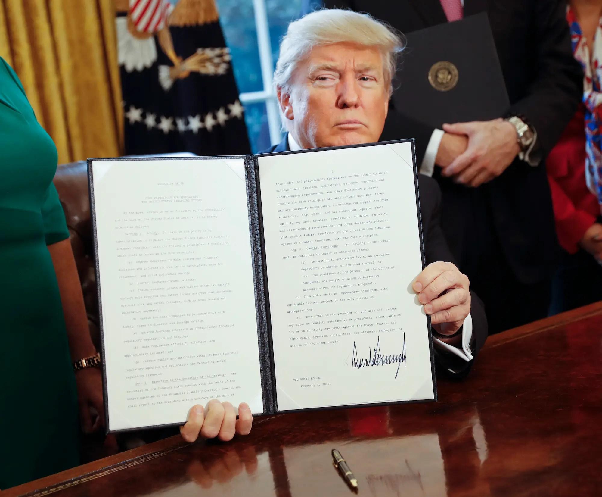Presidential Memorandum, February 3: Reviewing the fiduciary duty rule