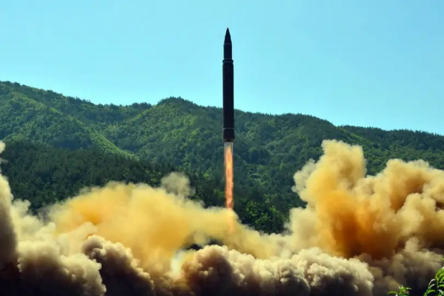 Image result for N.Korea with ICBM on July 28