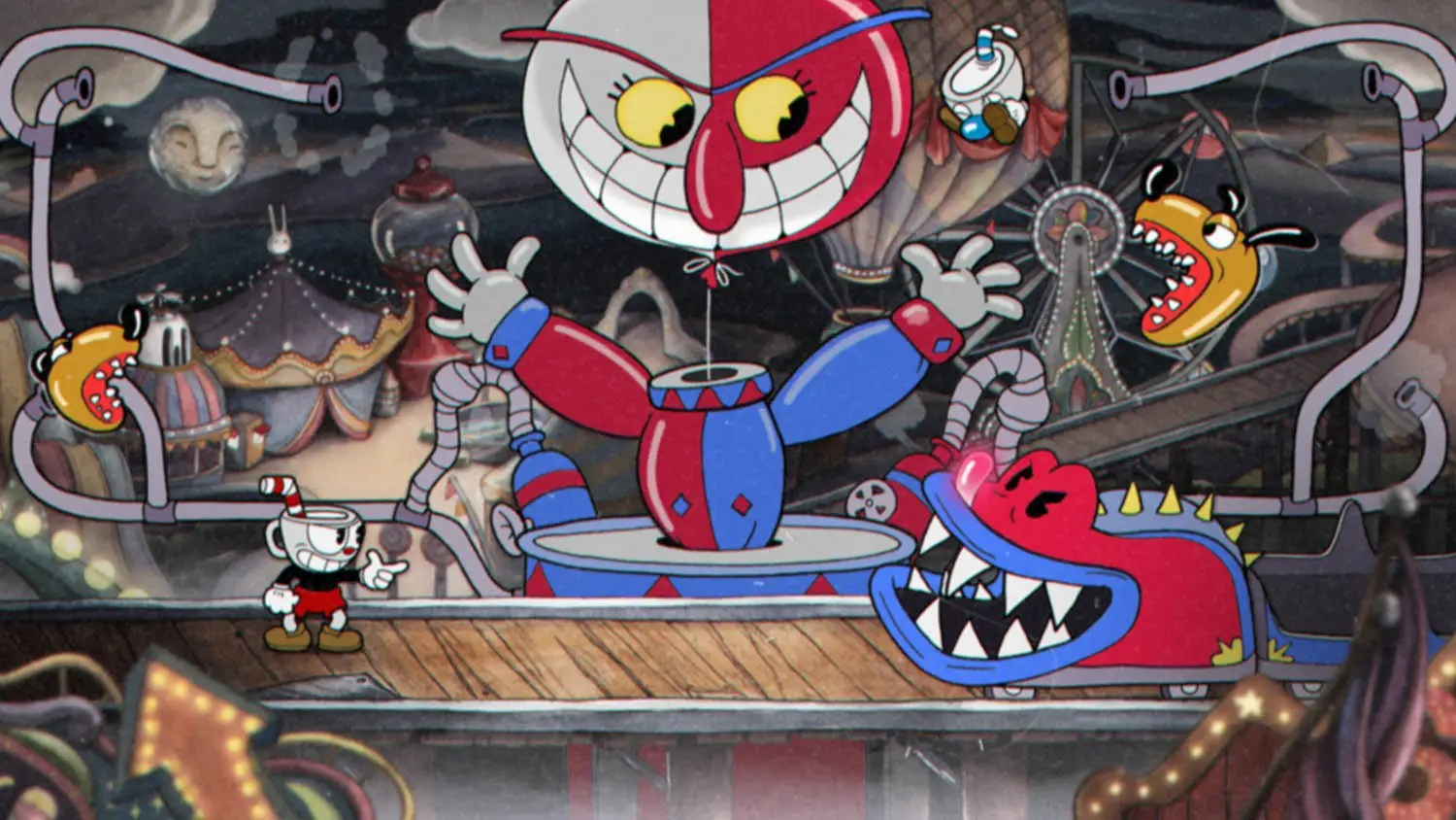 """It was powerful enough to play modern games like """"Cuphead."""""""