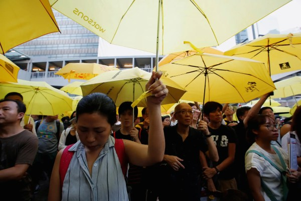 Protesters in Hong Kong demand full democracy on 'Occupy ...
