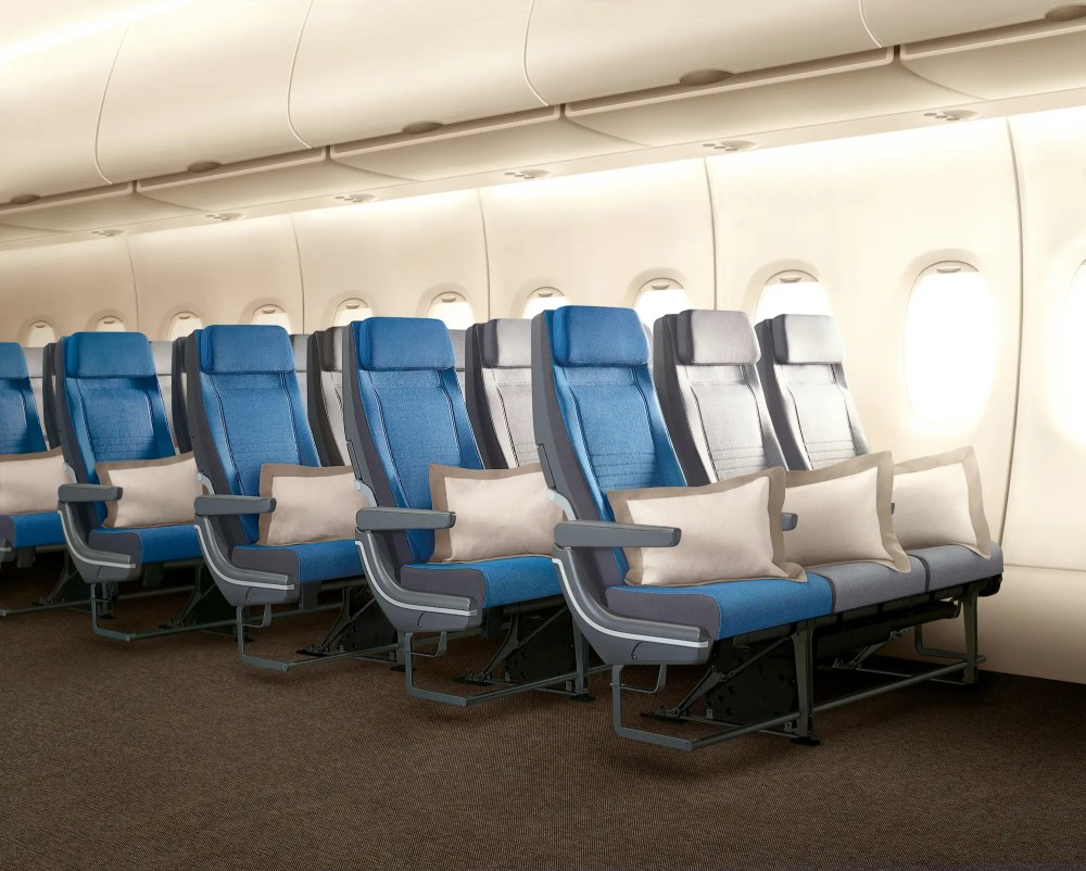 And then there's the economy cabin where the majority of us will spend our time.