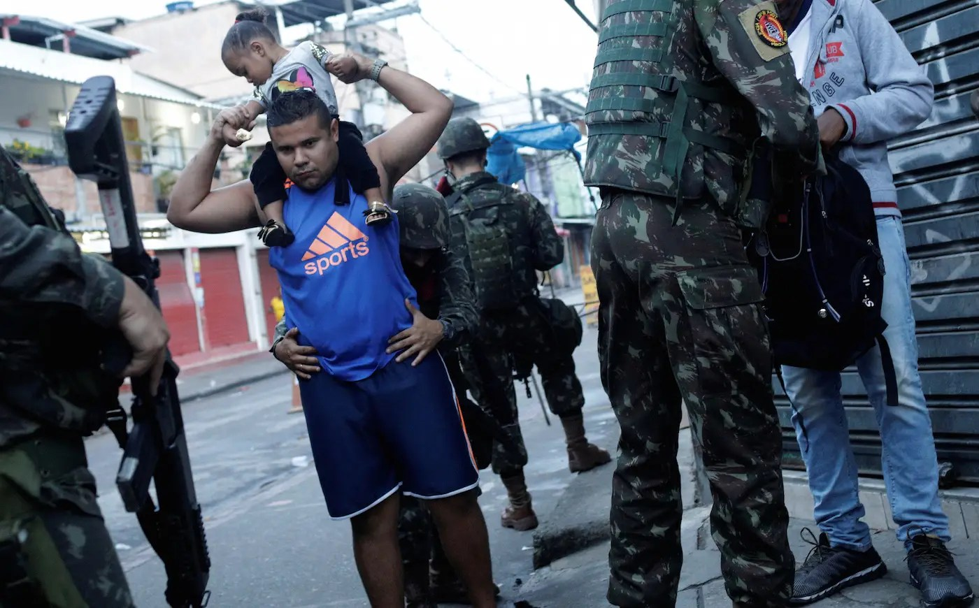 Brazil Rio de Janeiro police soldiers crime