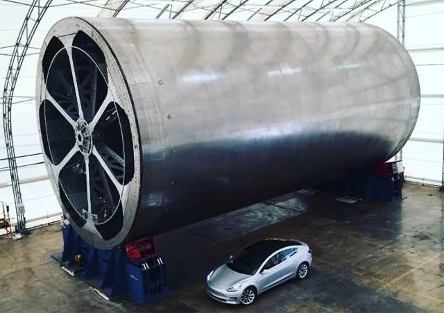spacex bfr spaceship carbon fiber mandrel elon musk instagram