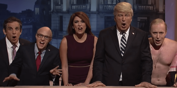 'SNL' cold open mocks G20 Summit with Trump 'Evita' parody ...
