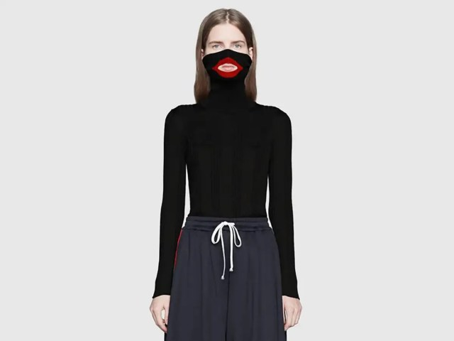 gucci blackface sweater accusations