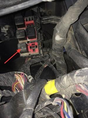 2008 Jeep Compass Interior Fuse Box Location