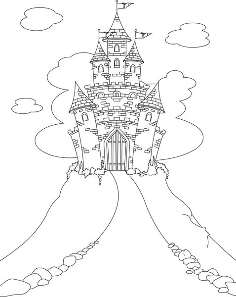 Áˆ Fairy Black And White Stock Cliparts Royalty Free Fairy Coloring Page Vectors Download On Depositphotos