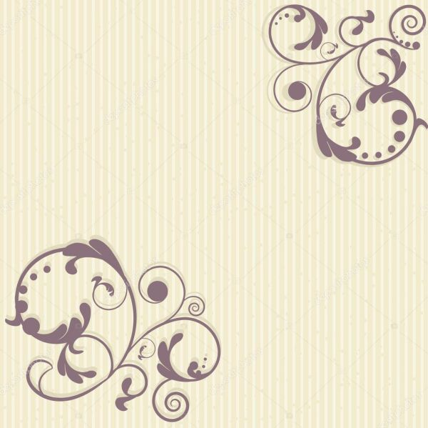 Vintage floral frame. Jpeg version — Stock Vector ...