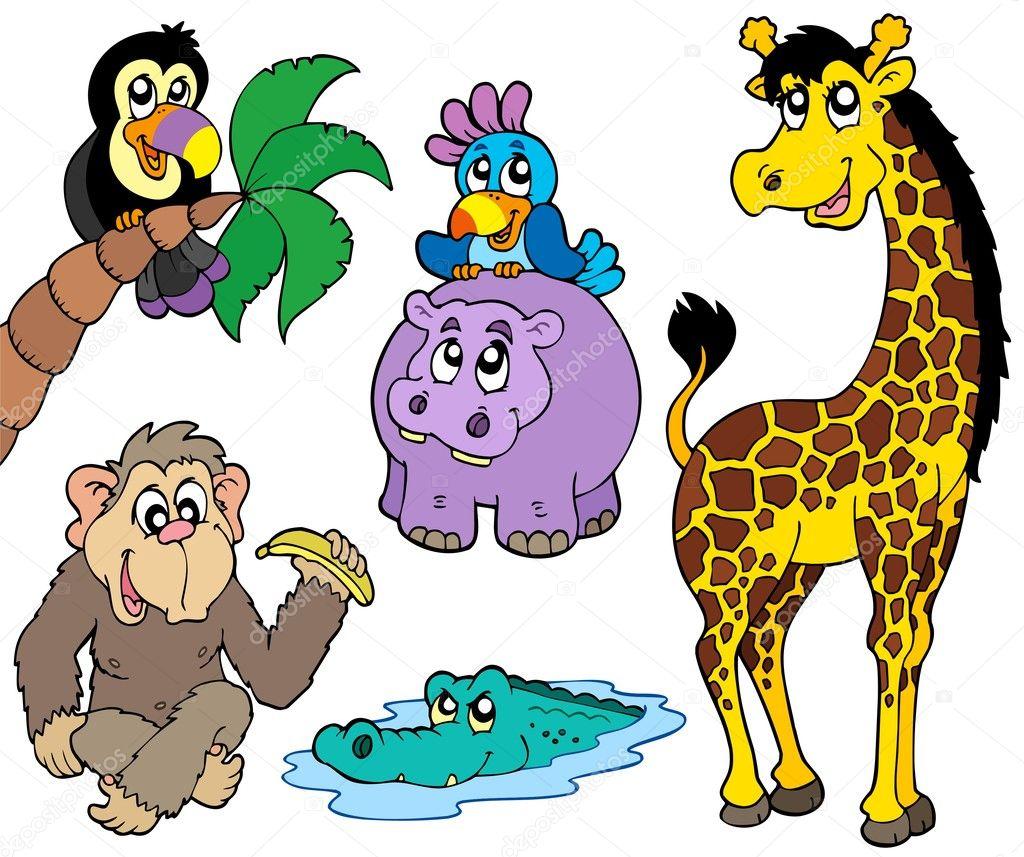 Set Of African Animals 2