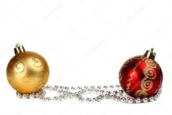 Украшения для новый год и Рождество — Стоковое фото ...