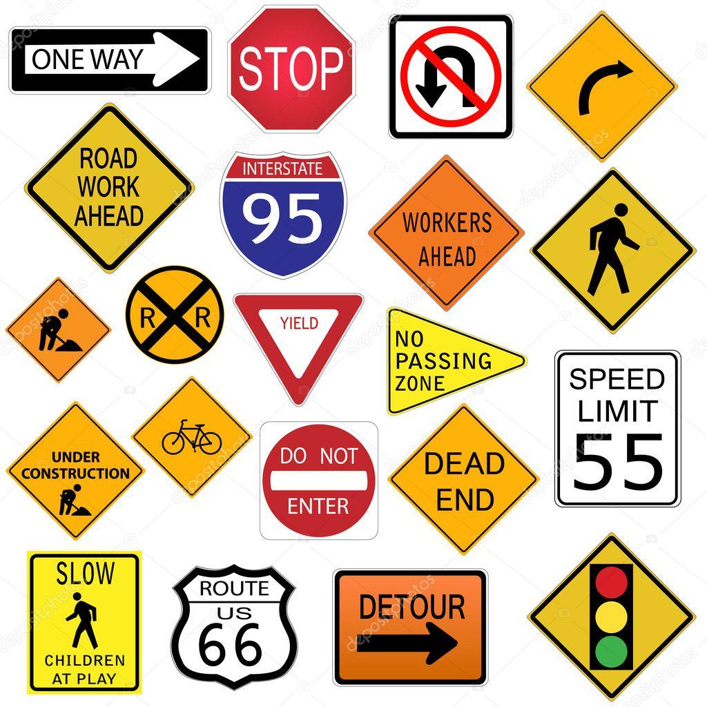 Symbols And Warnings Drivers Ed Worksheets