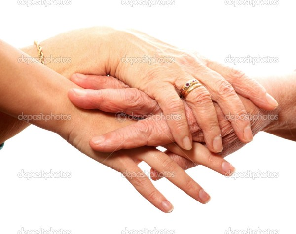 Молоді і старі руки — Стокове фото © macniak #4707914