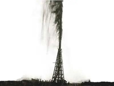 Image result for gushing oil