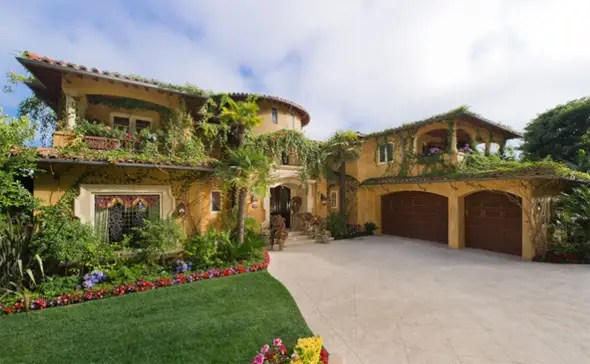 Dr. Phil's Beverly Hills Mediterranean Villa, with theater, gym, and billiard room -- $17 million