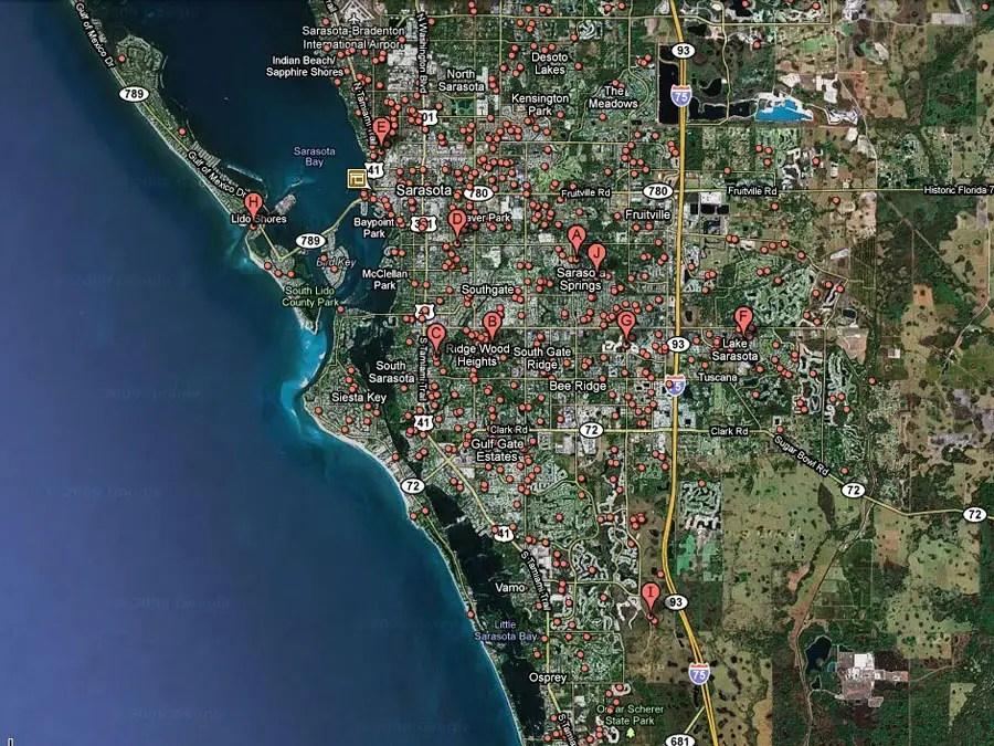 Sarasota, Fla. -- 1 in 21 homes in foreclosure