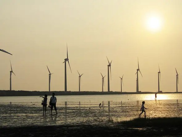 $18.2 BILLION: The Jiuquan Wind Farm will be the largest wind power base in the world when completed in 2013