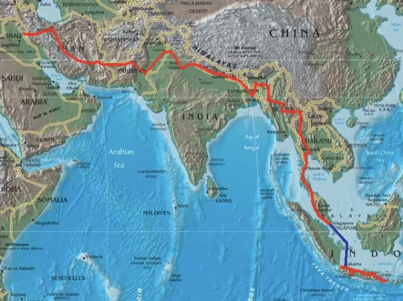 $44 BILLION: China is one out of 32 countries who signed an agreement for the construction of highways to span the continent and reach Europe