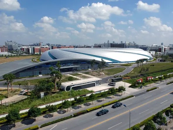 $176 MILLION: Shanghai Synchrotron Radiation Laboratory conducts China's major scientific projects and is the country's most expensive research facility