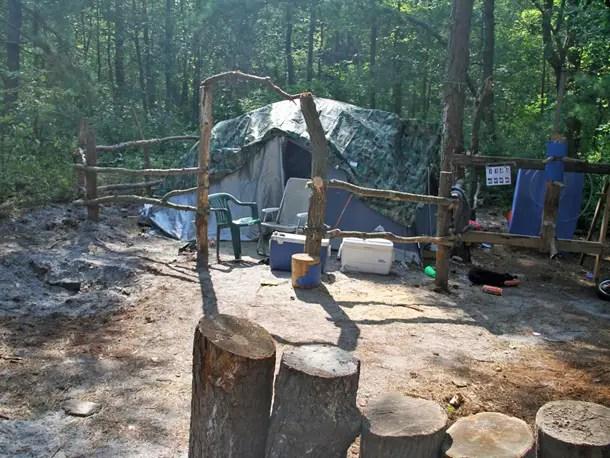 Homeless Tent City