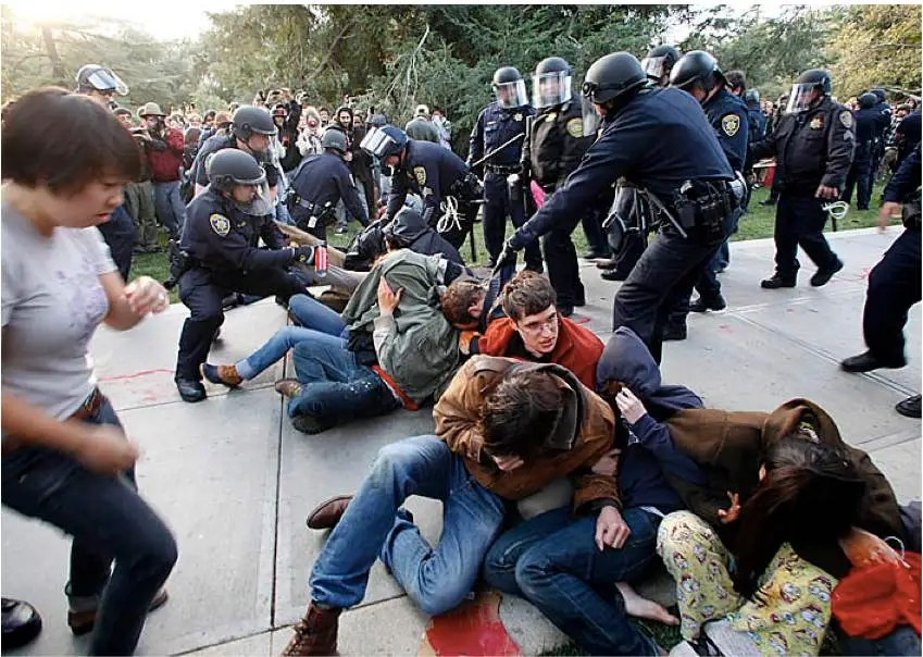 UC Davis remove students