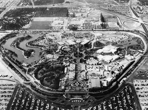 A child's ticket to Disneyland cost 35 cents in 1956. Today it costs $80.
