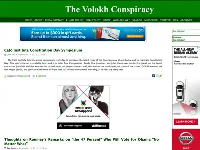 13) The Volokh Conspiracy