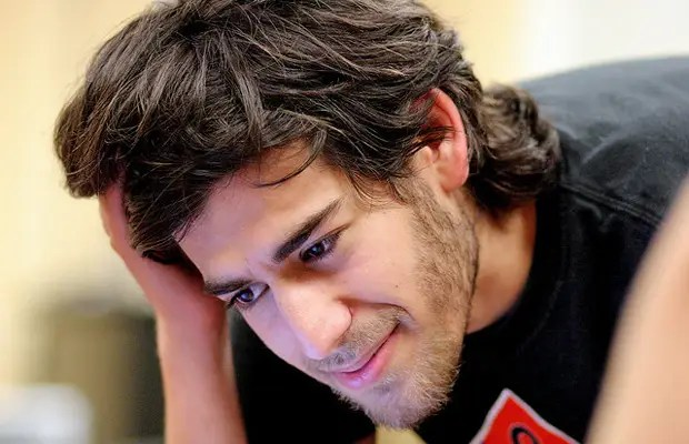 13. Aaron Swartz, who helped create RSS and Reddit
