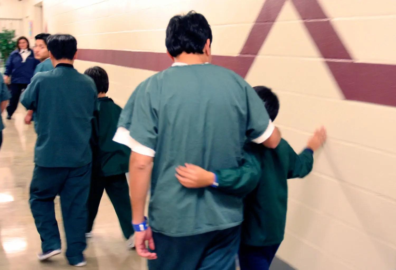 Immigrant family detention center