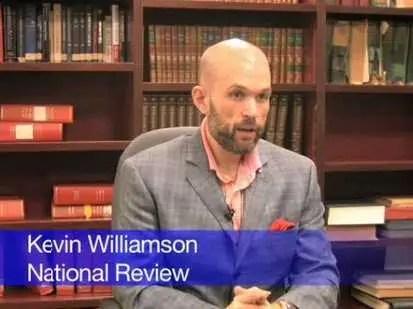 Image result for picture of columnist Kevin Williamson