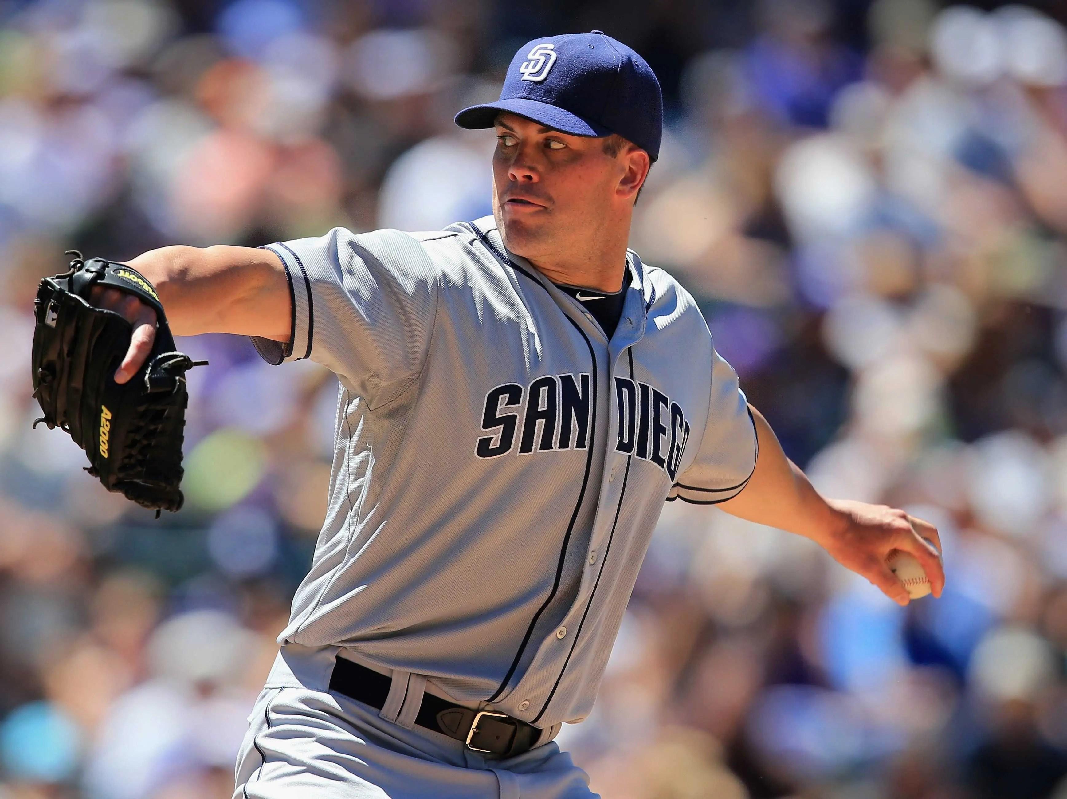 #9 Clayton Richard, San Diego Padres