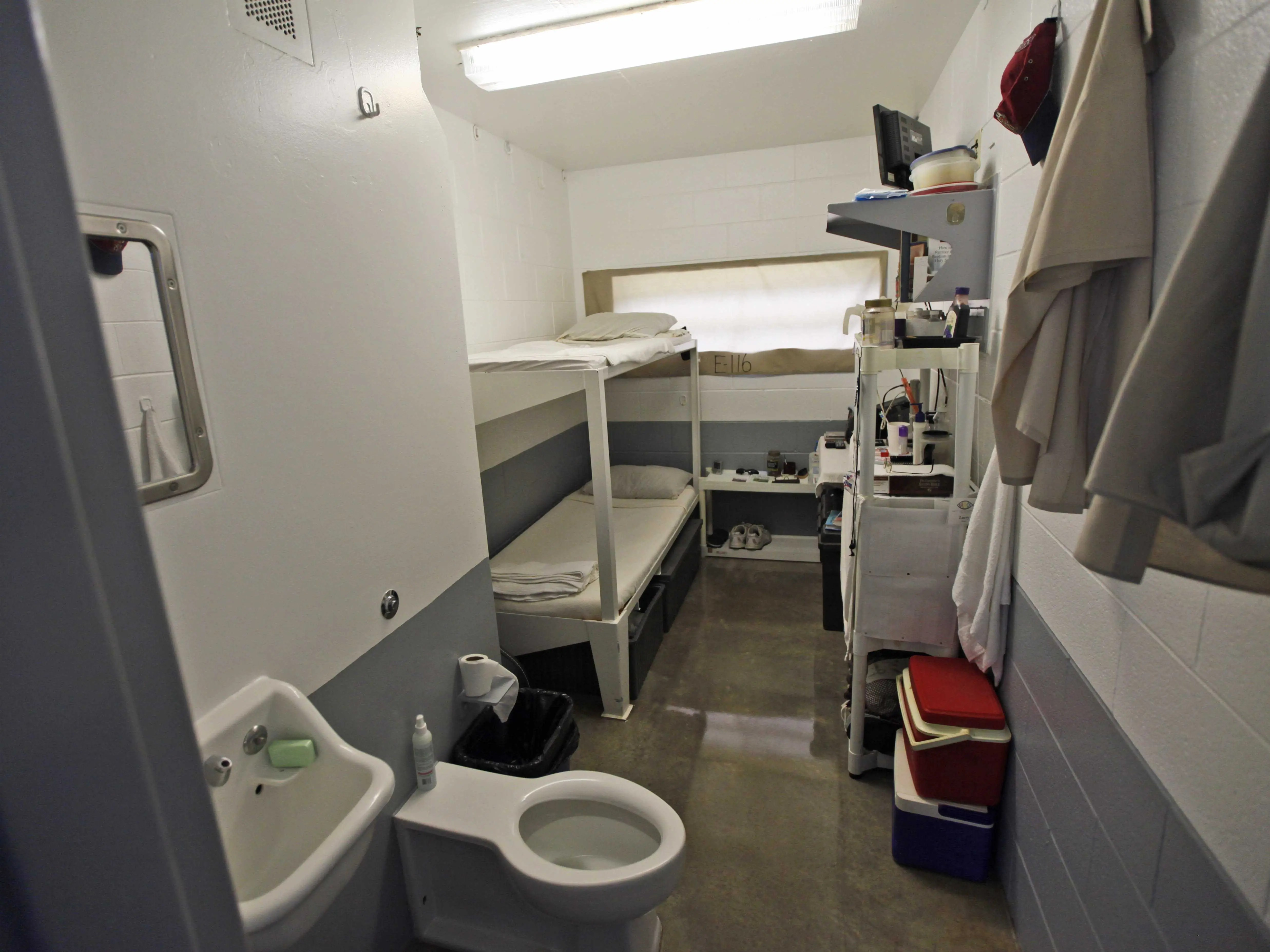 maximum security prison cell