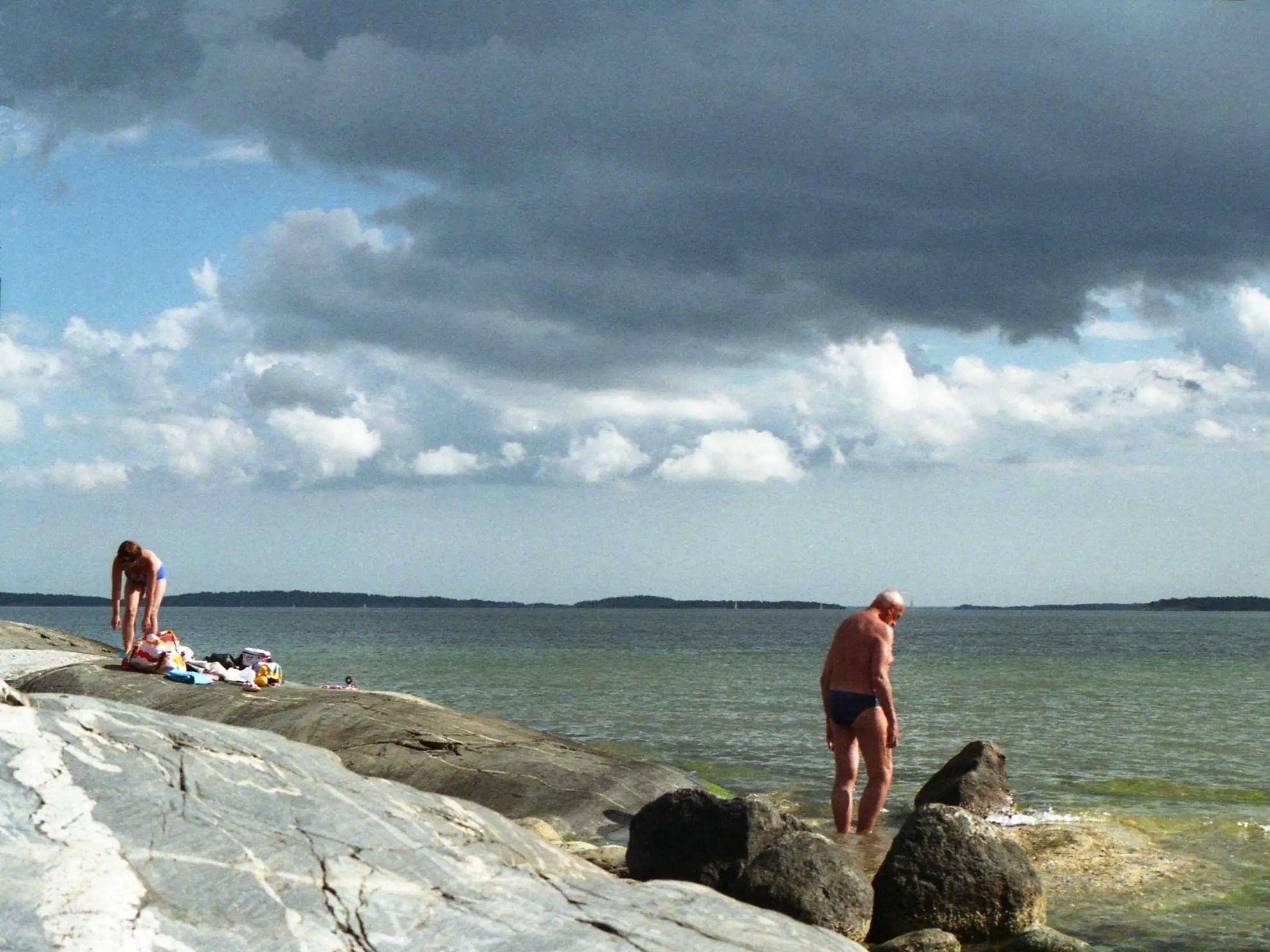 personas báltico bañadores seaq viejos