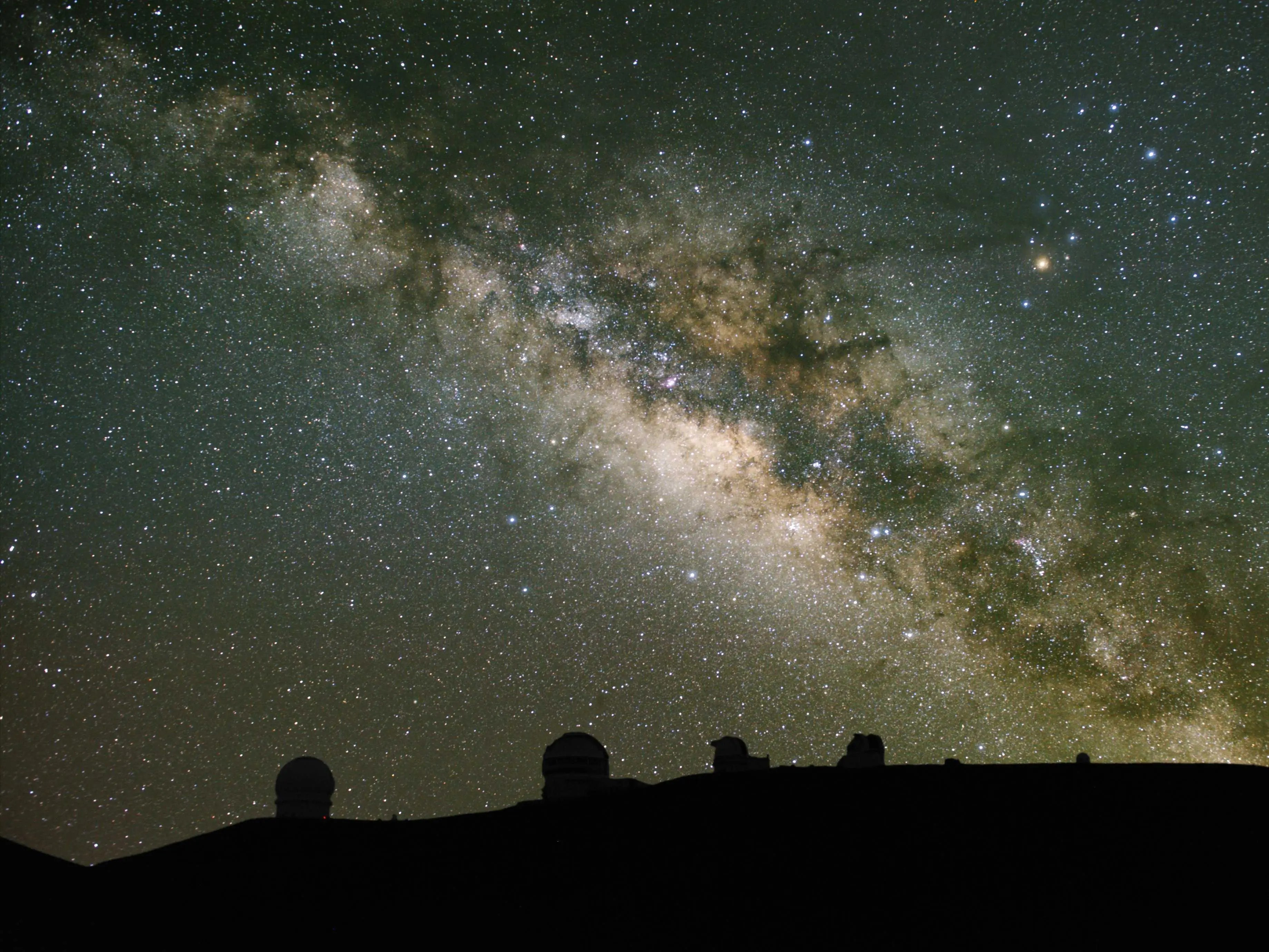 Drive up to the summit of Mauna Kea on the Big Island of Hawaii and watch the stars come out.