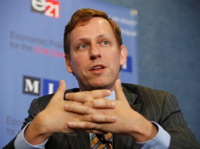 AGE 46: Peter Thiel
