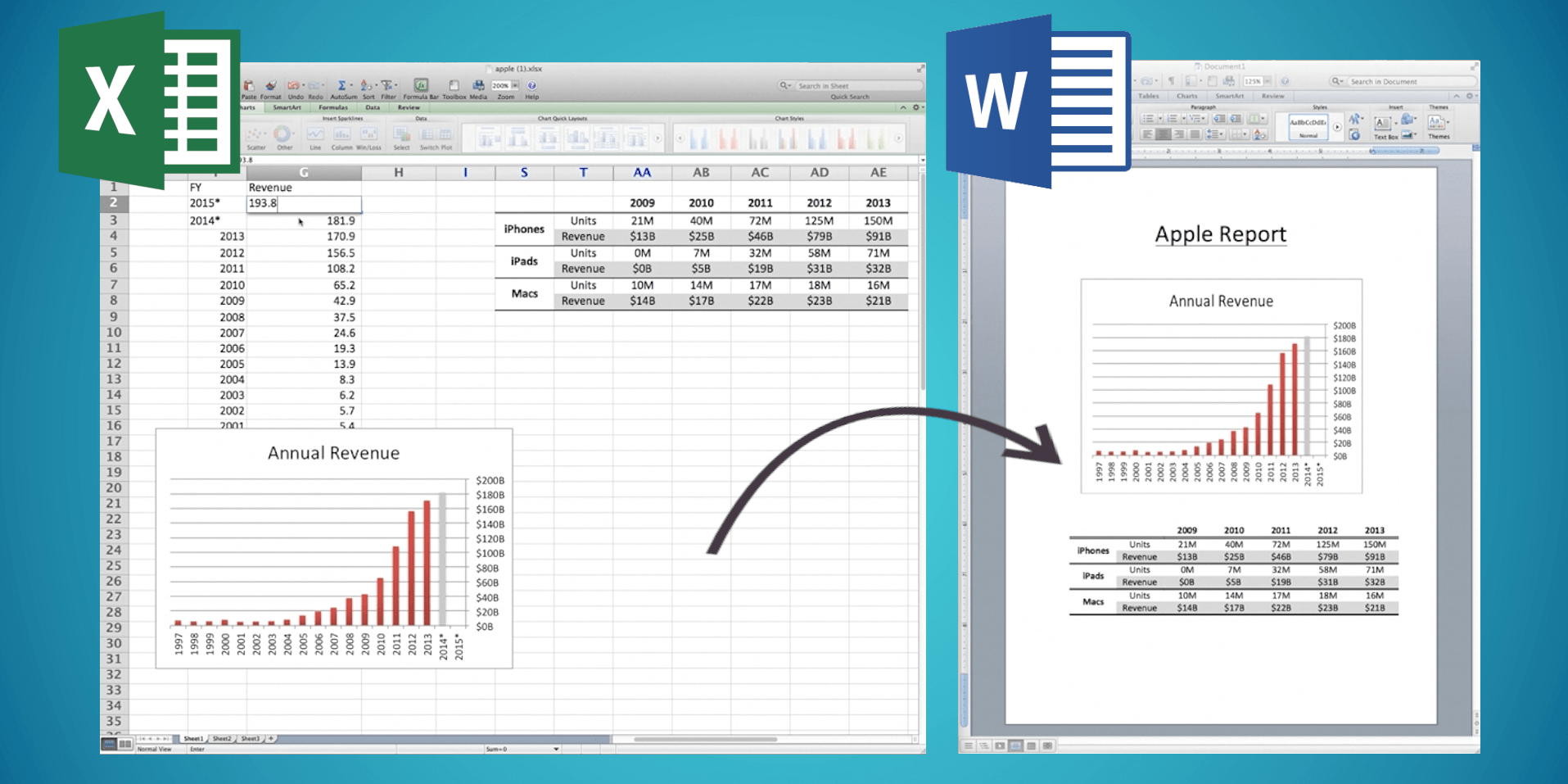 Link Your Reports To Excel