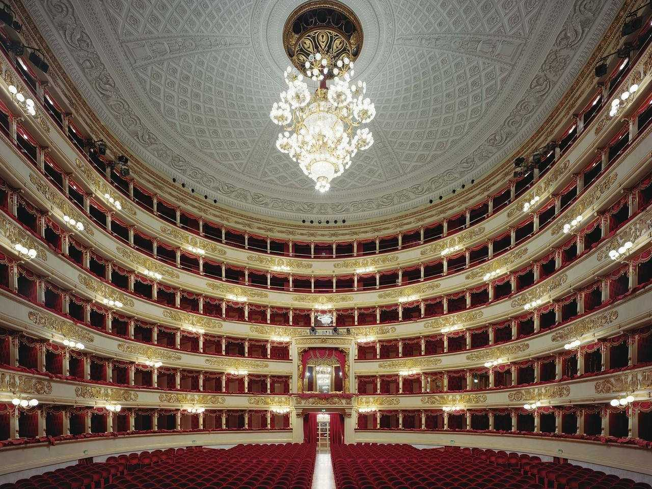 Watch a performance at La Scala, Milan's world-renowned opera house.