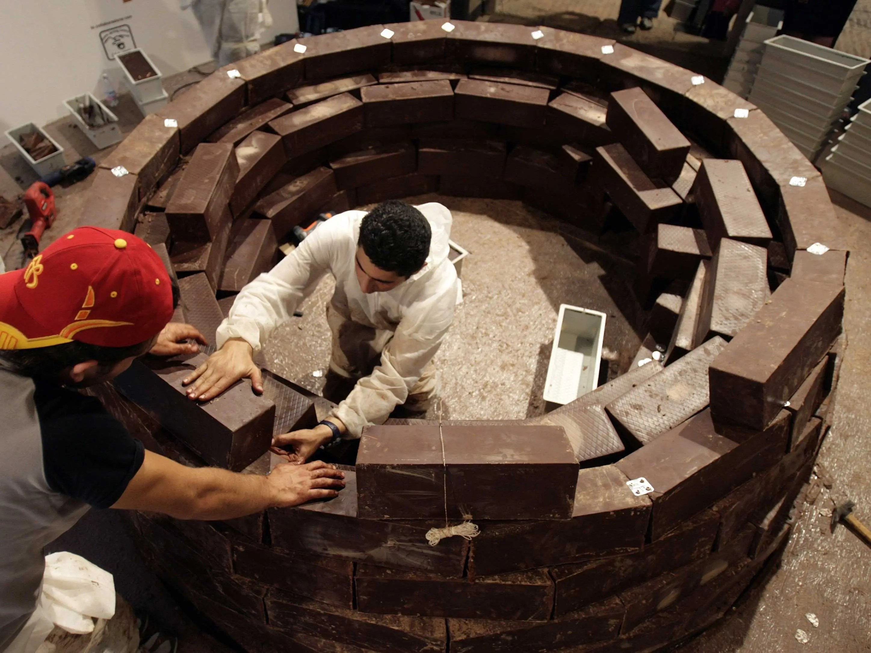 Attend the Eurochocolate Festival to celebrate the city of Perugia's world famous chocolate.