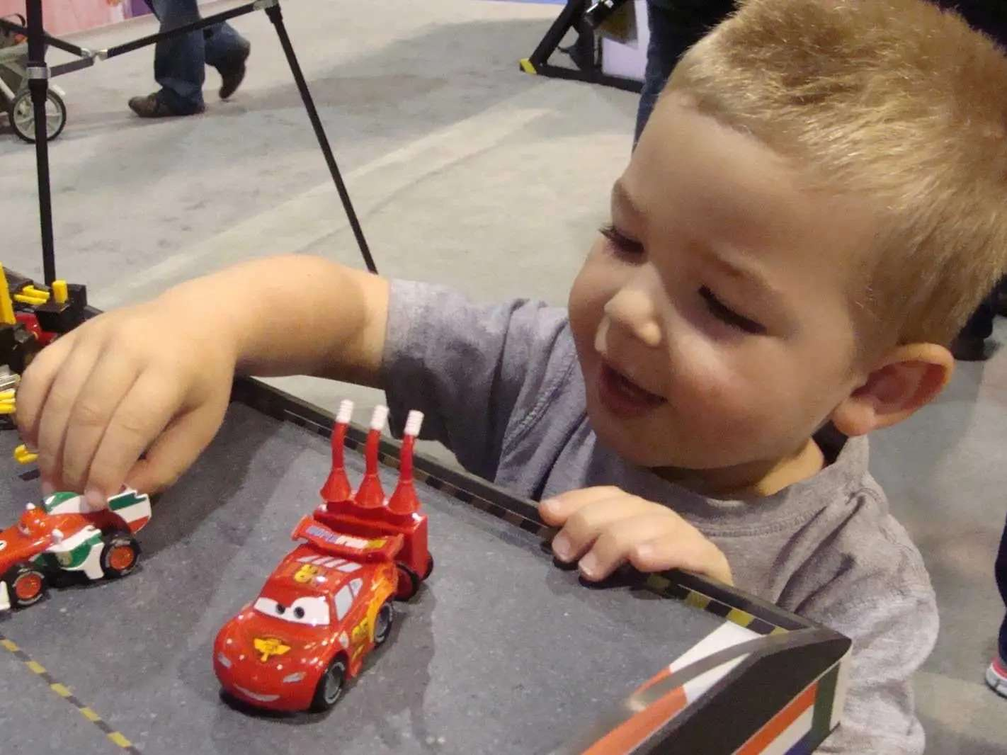 Mattel allows employees to take paid time off for their kids' school field trips.
