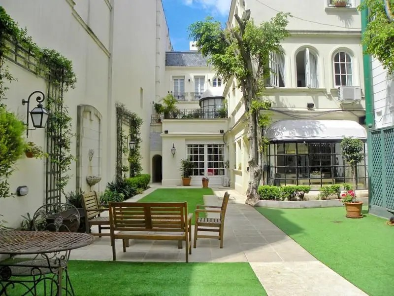 In Buenos Aires, for $4.8 million you can get a French-style 12,918-square-foot mansion in the neighborhood of Palermo Chico. It comes with five beds, five baths, a wine cellar, a servants' quarter, and a pool.