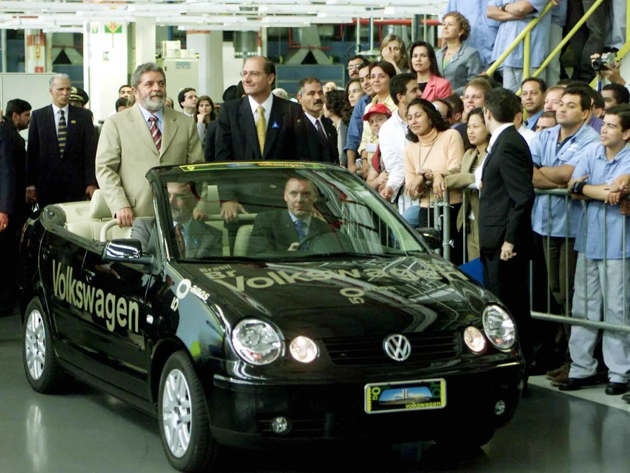 Volkswagen Polo Brazil President Lula